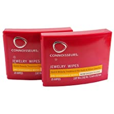 buy 2 Connoisseurs Jewelry Wipes 50 Wipes
