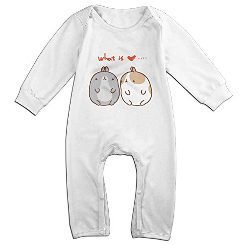 Posit-Babys-Couple-Molang-Rabbit-Boys-Girls-Kids-Creeper-Romper-Bodysuits-Jumpsuits-Size-US-White