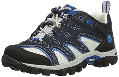 Timberland Hypertrail OX, Unisex-Child Running Shoes, Navy/Grey/Blue, 3.5 UK