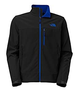 Men's The North Face Apex Bionic Jacket TNF Black/Monster Blue Size Small from The North Face Inc