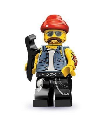 Lego Minifigures Series 10: Motorcycle Mechanic