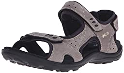 ECCO Women\'s Kana Sport Sandal, Warm Grey, 37 EU/6-6.5 M US