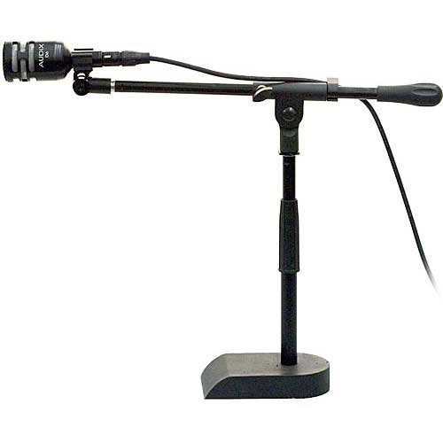 Audix D6-Kd Dynamic Instrument Kick Drum D6 Microphone With Stand