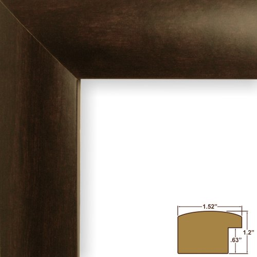 Craig-Frames-FM58WA-Picture-Frame-Smooth-Finish-152-Inch-Wide-Walnut-Brown