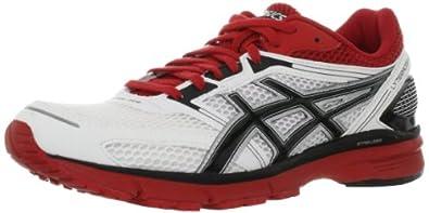 Asics Lyteracer RS Running Shoes - Men's-White Black-M: US 9.5 / EU 43.5 / 27.5 cm