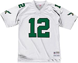 Philadelphia Eagles Randall Cunningham Premier Throwback Mitchell Ness Replica White... by Mitchell & Ness