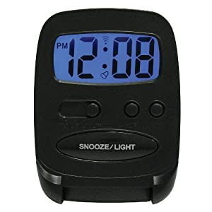 Elgin Travel Alarm Clock