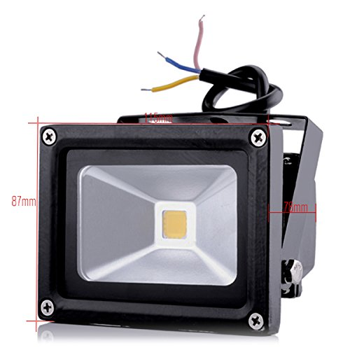 HimanJie-10W-LED-Fluter-wasserdicht-IP65-warmwei-Scheinwerfer-Wandstrahler-Auenbeleuchtung-Strahler