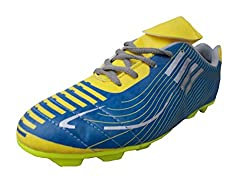 Port Unisex Aryan Yellow Football Shoes (Size 11 ind/uk)