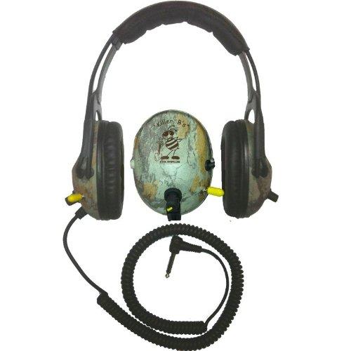 Killer B Camo Optima Headphones For Metal Detecting Fits Various Metal Detectors