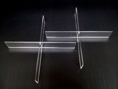 Acrylic Dividers For Makeup Organizers A4, A5, A7 And Aj7