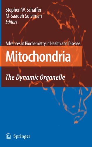 Mitochondria: The Dynamic Organelle (Advances In Biochemistry In Health And Disease)