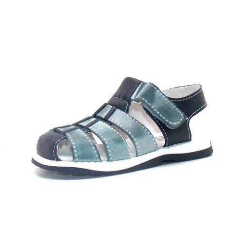 Seaside Mokassin Boat Shoe Children Shoe Spring shoes 1970101 Blue Grey