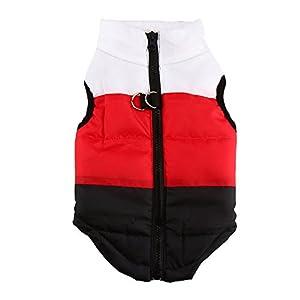 Homedeco Pet Dog Cat Vest Jacket Sleeveless Coat Winter Outwear Swearshirt Pet Clothes