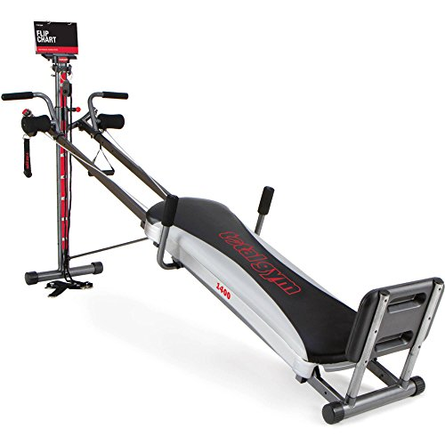 Total Gym 1400 Deluxe Home Fitness Exercise Machine Equipment with Workout DVD (Machine Home Gym compare prices)