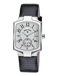 Philip Stein Women's 21-FMOP-ZB Classic Black Lizard Leather Strap Watch