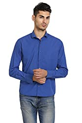 Skatti Cutway Collar Slim Fit Shirt