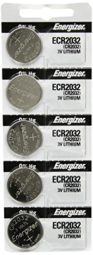 Energizer 2032 Battery CR2032 Lithium 3v (1 Pack of 5) (Energizer Battery Cr2032 compare prices)