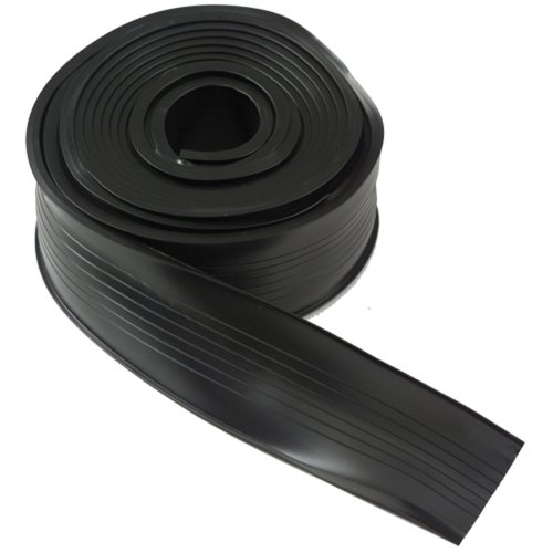 M-D Building Products 8462 Steel Garage Door Replacement Vinyl, 18 Feet, Black