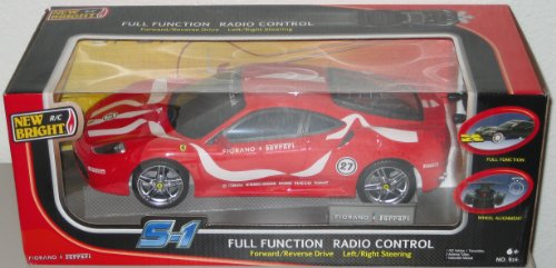 41bwjrbV0LL Cheap  New Bright   1:16 Radio Control RED FIORANO FERRARI S 1 R/C CAR