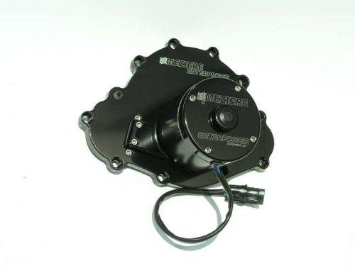 Meziere Enterprises Wp103Shd Pontiac V8 Electric Water Pump Black 42Gpm 11 Bolt