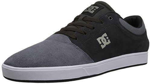 DC Men's Crisis Skate Shoe, Charcoal Grey, 13 M US