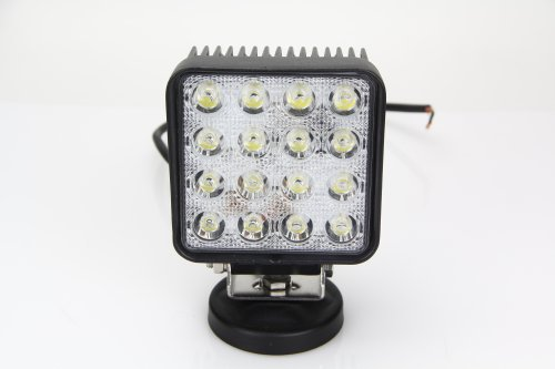 """Dgi Mart Home Garden Working Lighting Tools 48W 4"""" Square Led Work Light For Jeep Suv Atv Off-Road Truck"""