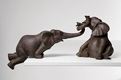 31370 Deko Figur Elefant Zirkus 2-er Set