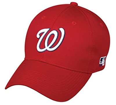 Washington Nationals YOUTH Cap Adjustable Replica MLB Official Little League Baseball/Softball Replica Hat