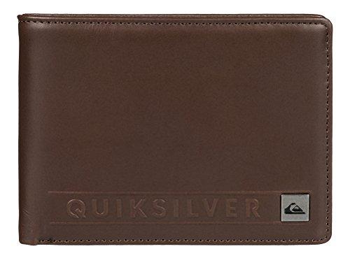 Quiksilver Uomo Portafogli MACK II M, marrone, L, EQYAA03312-CTK0