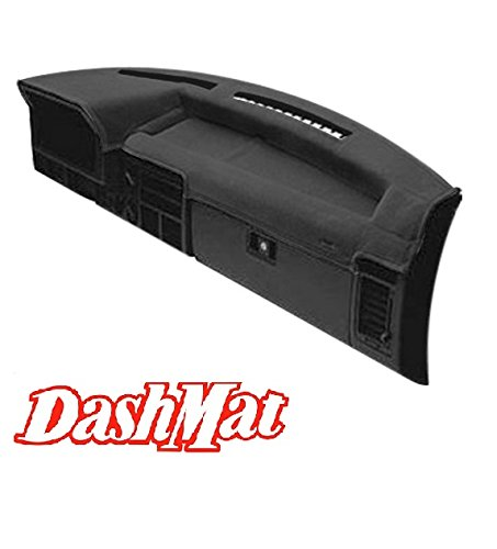 DashMat VelourMat Dashboard Cover Chevrolet and GMC (Plush Velour, Black) (93 S10 Dash Cover compare prices)