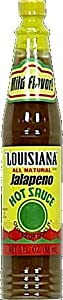 Louisiana Jalapeno Hot Sauce 3 Ounce Pack Of 2 from Louisiana Brand
