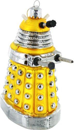 Doctor Who Kurt Adler Yellow Dalek Figural Ornament, 5-Inch by Kurt S. Adler Inc.