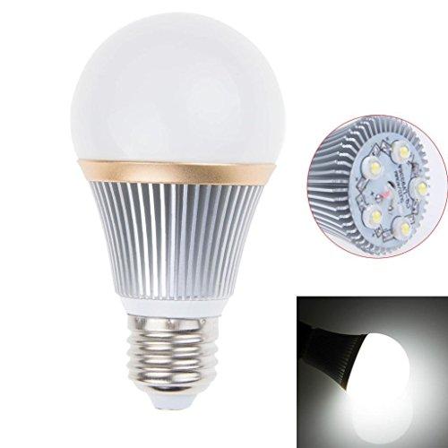 Dimmable 5W Led Globe A19 Bulb Light Lamp 5 Leds E27 Screw Base Cool White Lighting 110V