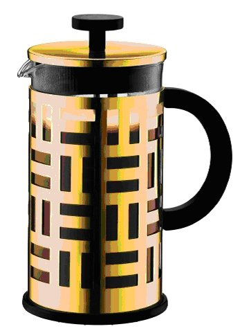 Bodum Eileen 8 Cup, 34 Oz Coffee Press, Gold in Color