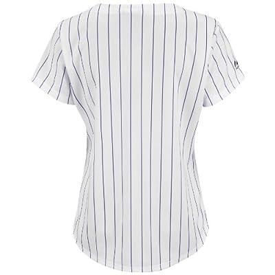 MLB Colorado Rockies Home Replica Baseball Women's Jersey, White/Purple