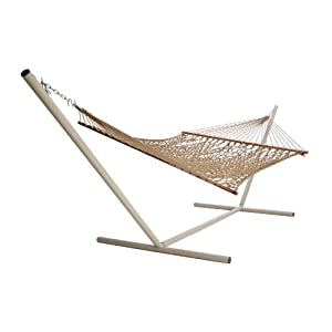 Castaway PC-14WSBR Deluxe Rope Hammock, Brown (Discontinued by Manufacturer)