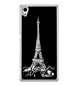 Eiffel Tower 2D Hard Polycarbonate Designer Back Case Cover for Sony Xperia Z4