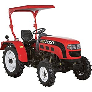 - NorTrac 20XT 20HP 4WD Tractor - with Ag. Tires