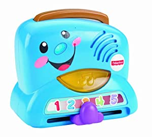 Fisher-Price Laugh and Learn Peek-a-Boo Toaster