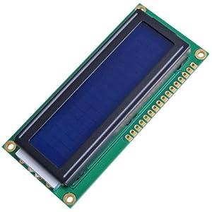 FACILLA® 1602 16x2 Character LCD Display Module Blue Blacklight [Electronics]