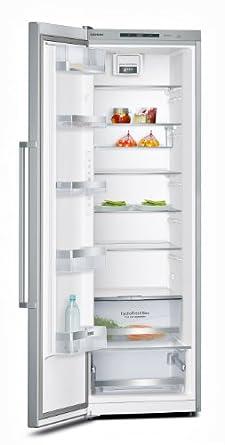 Siemens KS36VAI41 réfrigérateur - réfrigérateurs (Autonome, A+++, Acier inoxydable, Gauche, SN, T, LED)