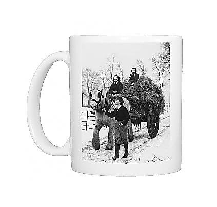 Photo Mug Of Land Girls Wwii From Mary Evans