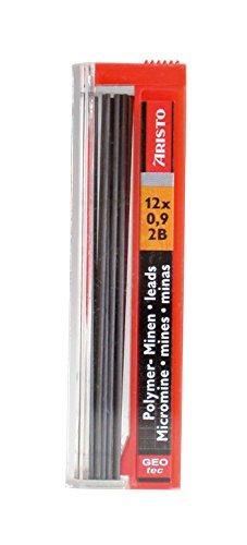 GEOtec mine 0,9 mm, hB-graphite-boîte de 12 pièces