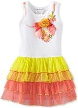 Bonnie Jean Little Girls39 Ribbon Screen Print Tutu Dress