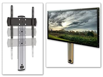 hauteur tv murale latest tele accrocher au mur panneau mural pour tv meuble tv suspendu pose tv. Black Bedroom Furniture Sets. Home Design Ideas