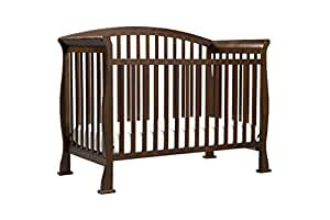 DaVinci Thompson 4-in-1 Convertible Crib with Toddler Rail, Coffee