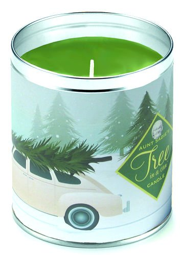 Aunt Sadie's Getting The Tree, Tree In A Can Candle (Pine Scent)
