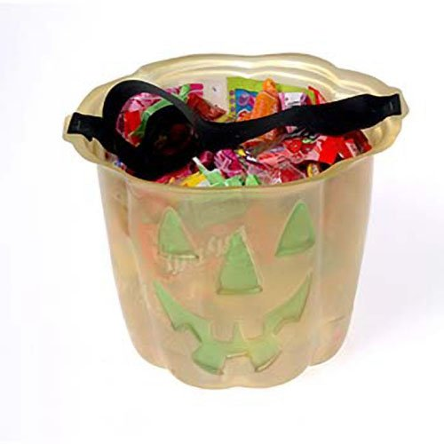 Dozen Glow In The Dark Pumpkin Halloween Trick Or Treat Buckets