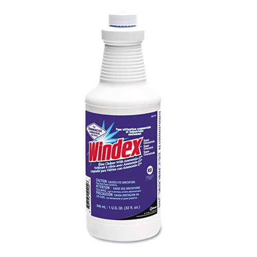 Windex - Glass Cleaner Concentrate, Ammonia-D, 32Oz Dispenser Bottle 4601541 (Dmi Ct